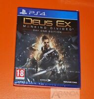 Deus Ex Mankind Divided Day One Edition PS4 New and Sealed