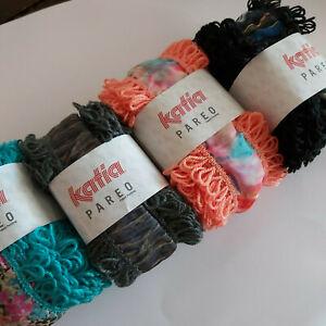 Knitting Yarn ~ Katia Pareo ~ a looped ribbon yarn, 1 skein to make 1 shawl