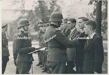 PK-Foto Auszeichnung von Flakhelfern 1944 2.WK (t629)