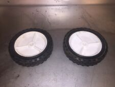 "2 dolly wheels 7"" Or Walk Behind Mower Wheels"