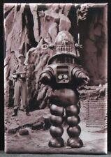 "Robby the Robot B & W Photo 2"" X 3"" Fridge / Locker Magnet. Forbidden Planet"