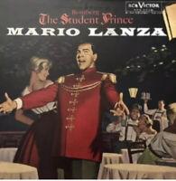 Mario Lanza Romberg The Student Prince LP RCA Vinyl NM LM-2339 Mono Free Ship
