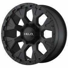 "16"" x9 Helo HE878 878B Black 8x6.5 -12 ET HE87869080712N 4 Rims"