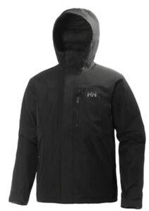 Helly Hansen Men's Squamish Jacket S Small Black 62368-990 3 In 1
