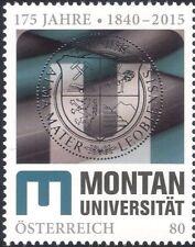 Autriche 2015 Leoben University 175th/Coat-of-arms/MINING/génie 1 V (at1277)