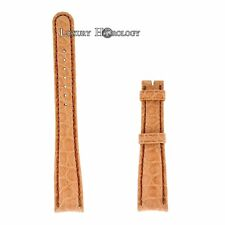 New Authentic Roger Dubuis Homage H37 18 mm Long Naked Light Tan Crocodile Strap