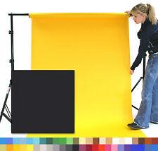 BLACK Creativity Photographic Studio Background Paper 1.35 x 11m Roll - 101244