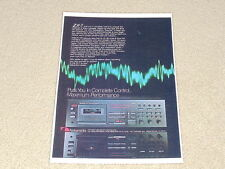 Nakamichi ZX-7 Ad, 1981, Ultimate Deck! 1 pg, Article