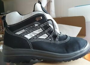 Aboutblu Safety Boots 24080 01 A S2 Susy Size 7 black silver