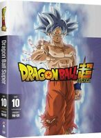 DRAGON BALL SUPER Complete Series DVD Parts 10 - Seasons 10 ONLY