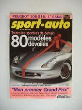 SPORT AUTO n°411 FERRARI 365 GT4 2+2-LAMBORGHINI ESPADA 400 GT-BMW Z3-106 S16