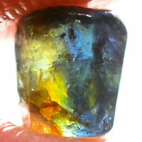 Express Handling - 1.90ct - Bicolor Blue Yellow - Sapphire - Fancy Facet Rough