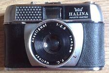Vintage Retro 1960's Halina Paulette Electric Film Camera 35mm Manual Case