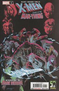 X-MEN CURSE MAN-THING #1 VF/NM 2021 MARVEL HOHC