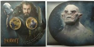 NEW ZEALAND: 2014 THE HOBBIT, THE BATTLE OF 5 ARMIES UNCIRCULATED  COIN SET