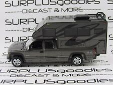 Johnny Lightning 1/64 LOOSE GNMTAL 2002 CHEVROLET SILVERADO 1500 Pickup w/Camper