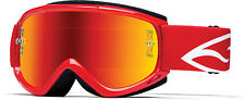 Smith FUEL V.1 Max M MTB Mountain Bike Goggles Red Frame  | Red Mirror Lens