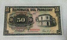 50 Pesos Paraguay 1923 aUNC