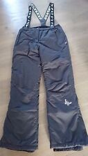 Kinder Ski-/Snowboard-Hose, anthrazit, Gr. 170/176, water-/windproof, neuwertig
