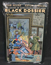 Black Dossier Hardcover By Alan Moore Vf-Nm Sealed