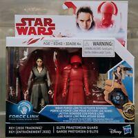 REY JEDI TRAINING & ELITE PRAETORIAN GUARD Star Wars The Last Jedi 2-Pack NIB