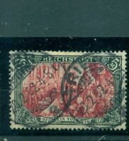 Deutsches Reich, Darstellungen des Kaiserreiches Nr.66 III gestempelt