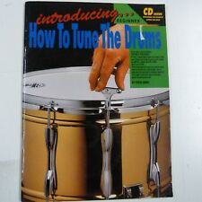 percussion HOW TO TUNE DRUMS incl. CD, Steve Shier