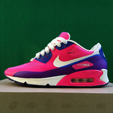 Authentic 2014 NIKE AIR MAX 90 HYPERFUSE PRM Pink Flash Usa 9 Uk 6.5 Eur 40.5
