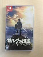 Nintendo Switch Game The Legend of Zelda Breath of the Wild