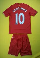 Coutinho Liverpool kids jersey+shorts Young M 2015 2016 shirt ig93