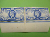GB KGVI 1949 UPU MNH pair Horizontal