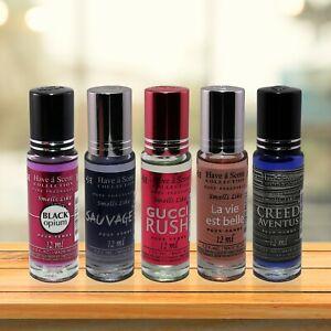 Roller Designer Perfume Oil! Men and Women's Long Lasting High Quality 12ML NEW*