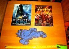 Firefly Companion & Serenity Official Visual Companion Books W/Foam Serenity