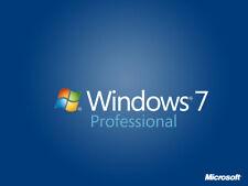 Microsoft WINDOWS 7 PRo Genuine Lifetime Activation License Key🔑64bit/32 Bit