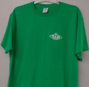 Texas Roadhouse Restaurant Embroidered T-Shirt S-6XL, LT-4XLT NEW