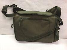 Messenger Laptop Bag Mulit-Compartments Olive Green
