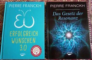 Erfolgreich Wünschen 3.0 / Das Gesetz der Resonanz - Pierre Franckh (2 Bücher)