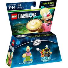 LEGO DIMENSION 71227 FUN PACK Tha Simpson Krusty Clown bike nuovo imballato