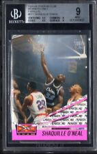 BGS 9 w/9.5 SHAQUILLE O'NEAL 1993-94 Stadium Club Members Only Beam Team MINT