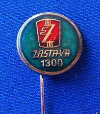 ZASTAVA 1300 KRAGUJEVAC Logo vintage pin badge - Yugoslavia car automobile pin
