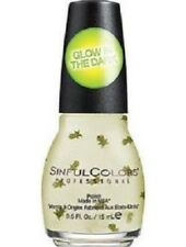 SINFUL COLORS NAIL POLISH - WITCH HAZEL BOHN - GLOW IN THE DARK, HALLOWEEN 2017