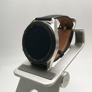 Samsung Galaxy Watch3 Cellular Mystic Silver 45mm + Black Leather Band 7/10