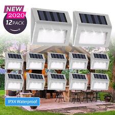 Super Bright Solar Powered LED Door Fence Wall Lights Outdoor Garden Lighting UK