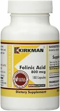 Folinic Acid 800 mcg 180 caps