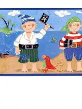 Pirate / Pirates of Mystery Island Wallpaper Border YH1483BD / BG1730BD