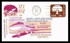 Gulfstream 947 Shuttle training Aircraft test flight 7 .9 1976 USA  COVER
