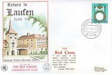 GERMANY DEUTSCHE BUNDESPOST 1980 LIMITED WESSEX RED CROSS COVER RETURN TO LAUFEN