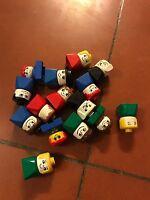 Lego Duplo 15 Figuren Katze Hund Tiere Bausteine Lego-Sortiment NEUWERTIG