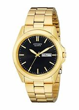 New Citizen Men's BF0582-51F Analog Display Japanese Quartz Gold Watch