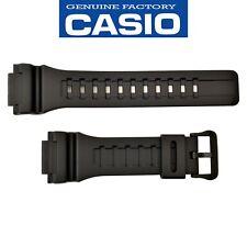Genuine CASIO G-SHOCK Watch Band Strap AQS810W TRT110H W-735H  Black Rubber